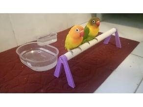 perch for lovebird budgies or cockatiel