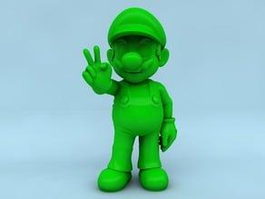 Mario Posed - UPSAMPLED