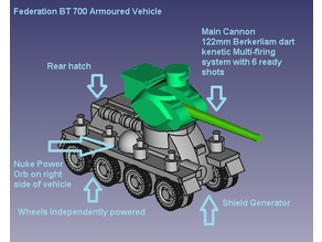 BT 700 Federation Tank