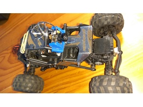 Basher RockSta 4wd crawler FPV camera mount AIO TX01/TX02/TX03
