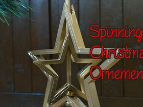 Spinning Christmas Ornament