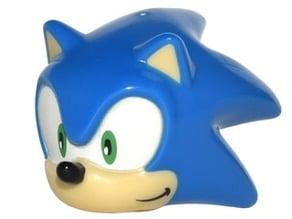 Lego Sonic Head