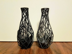 Voronoi Skeleton Vase
