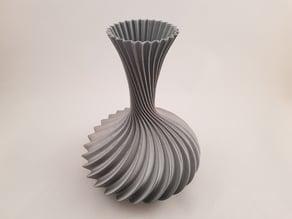 Curly Vase