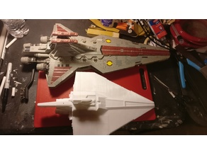 Star Wars The Clone Wars Acclamator class assault ship