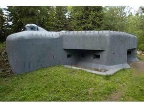 "Czechoslovak border fortifications - KS-5 ""U potoka"""