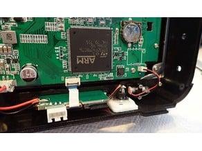 Jumper T16 charging socket countersunk
