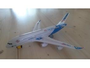 Air Bou A380 wheel + bottom plate