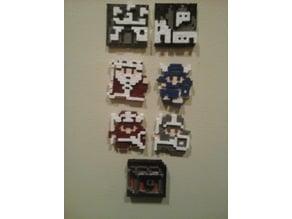 Dragon Warrior NES Pieces