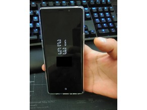 Sturdy Phone Holder with Elastic ring/ Note 9 one-handed operation