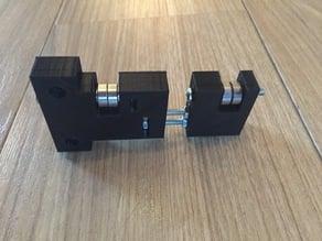 Filament Spool holder for aluminium profiles