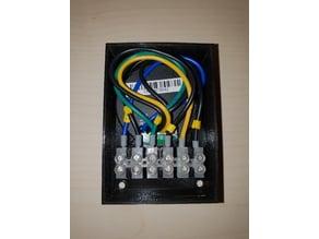 Homematic Gehaeuse HM-SWI-3-FM mit Luesterklemmen 3fach Schalterschnittstelle