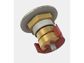 Modmaker 510 squonker connector locking mechanism (large nut)