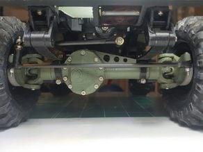 Servo mount bumper for the OSSUM Jeep