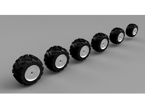 Gaslands off-road wheels