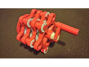 Redesign handle for planetary gear