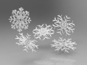 Various SnowFlakes Designs