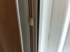 Window slider support