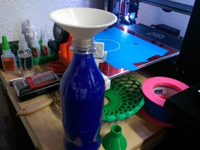 Soda bottle funnel (Wide mouth edition)