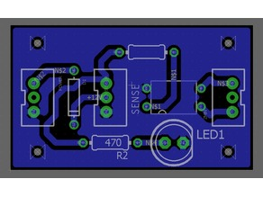 Optocoupler PCB For Laser Etching For ABL