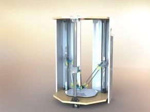 Delta-Pi Reprap 3D Printer