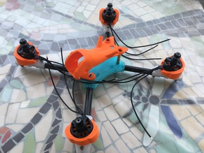 Carbon Tube FPV Racer (quadcopter)