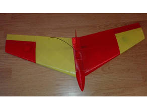 SPEEDY - a 3D-printable RC-Flying-Wing
