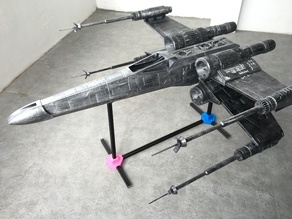 THE X-WING FIGHTER FROM STAR WAR
