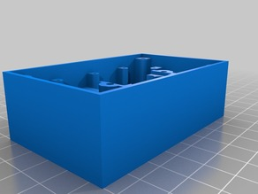 Box with a stand for a PS3 Eye camera to be used for infrared tracking