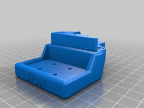 BLV mgn Cube - 3d printer - X mounts left right for mgn9 rails
