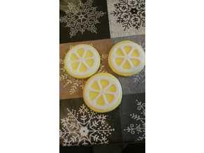 Lemon Cutter - sugar plate