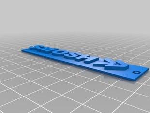 Smosh Logo Keychain