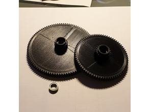 Hobbymat MD65 / Proxxon SD300 gears for automatic feed