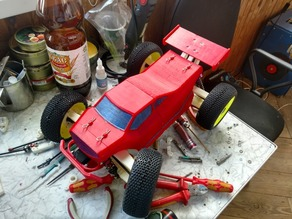 1/10 RC 4WD Truggy BT250.2