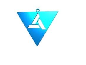 Assassin's Creed Art Logo Pendant