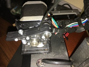 Printrbot Plastic Extruder Cable Chain Mount