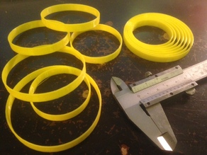Quick-Printing Bracelet Sizers