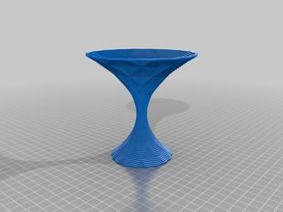 My Customized Polygon Vase - Martini glass