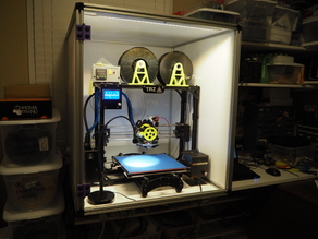 Heated 3D Printer Enclosure