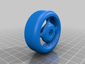 Latrax drift wheel