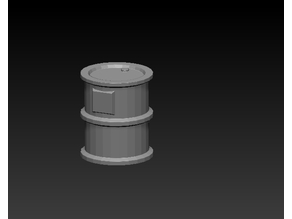 Space-lock 28mm scale Barrel A