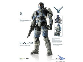 Halo Reach - Noble 1 - Carter - A259 - Mark 5 armor set including Helmet