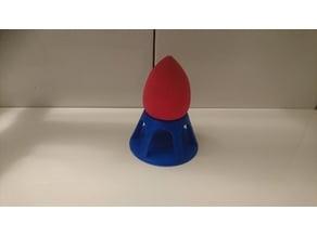 Beauty blender blusher sponge stand / holder