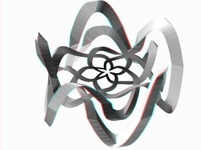 Extrude-Transform Polygons: Rose-Knot