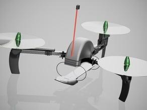 RCExplorer V3 inspired tricopter mini (295mm wheelbase)