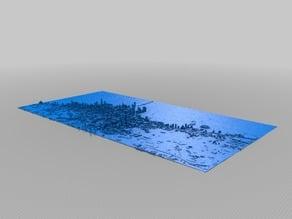 Chicago Skyline 3D Map