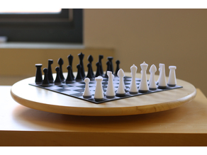 Multi-Color Modern Chess Set