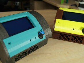 CHACRAS (CherHubert Amazing Case for Ramps-Arduino-Screen)