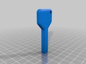 Utility Cabinet Meter Square Keys
