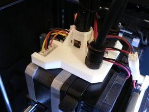 Flashforge Creator X/Pro extruder filament tube bracket